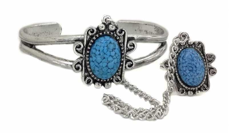 Blauer stein armspange for Verlobungsring blauer stein