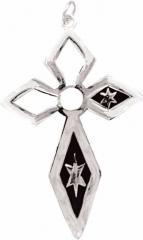 CNK-C 008 A - Halskette / Star Crucifix