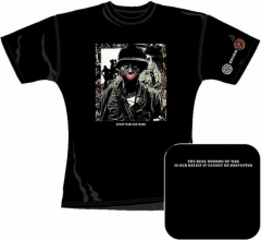 Official Merch. Girlie - Crass - Fight War Not Wars