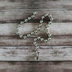 MSHK 004 - Metall Halskette