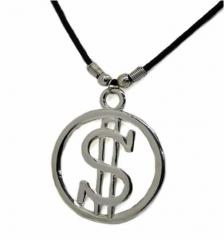 Halskette Dollarzeichen