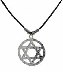 Halskette mit Davidstern Anhänger