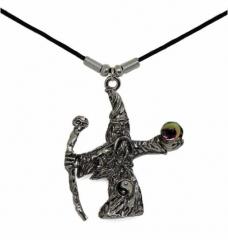 Halskette mit Zauberer Anhänger