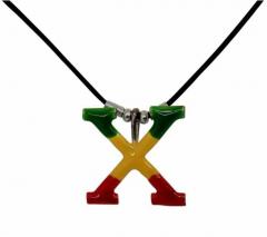 Necklace Rasta X Symbol