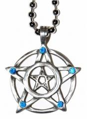 Gothic Halskette Pentagramm