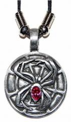 Gothic Halskette Spinne