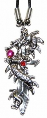 Gothic Halskette Dragon & Sword