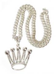 Rapper Halskette - Krone