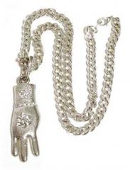 Rapper Halskette - Hand