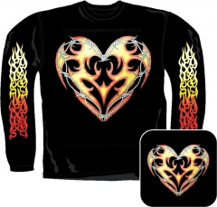 Sweatshirt - Tribal Herz