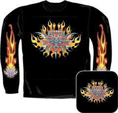 Sweatshirt - Feuer Tribal