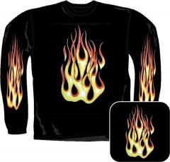 Sweatshirt - Große Flamme