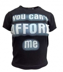 Schwarzes Top - You Can't Afford