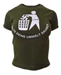 Armee grünes Top  Anti Nazi