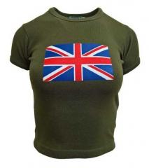 Armee grünes Top  Grossbritannien