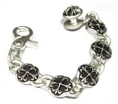 Trendy Armband Silver