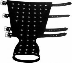Ledernietenband - 50 Spitznieten