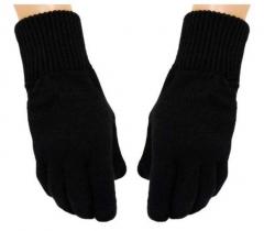 Handschuhe  - Uni Schwarz