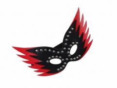 Venezianische Maske - Schwarz