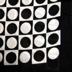 Baumwolltuch Polka Dots