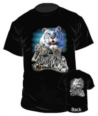 Kinder T-Shirt - White Tiger's Breed