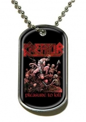 Kreator Pleasure To Kill Merchandise Dog Tag