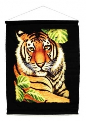 Textil Poster - Jungle Tiger