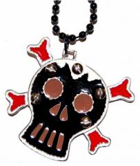 NEK-D 005 - Halskette / Skull
