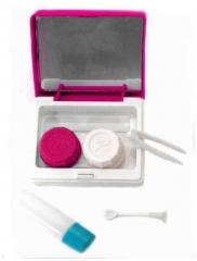ELS 002 - Kontaktlinsen Etui - Pink