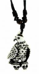 Gothic Halskette Der Adler ist gelandet