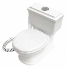 Toiletten Telefon