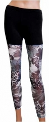 Leggings Blumenmuster