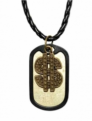 NEK-A 496 - Cool dogtag with dollar sign