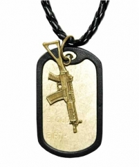 NEK-A 502 - Cool dogtag with a rifle