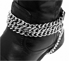 Bootstrap - 3 Rows Chains & Leather