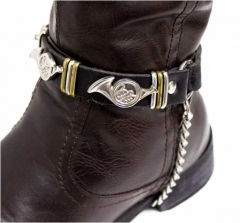 Leather Boootstrap - Instrument Studs