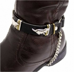 Leather Bootstrap - Dog Studs