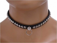 Choker Mini Spitznieten & Ring