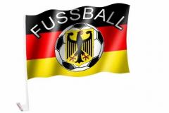Autofahne Deutschland Fussball