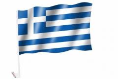 Autofahnen Griechenland