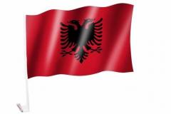 Autofahne Albanien