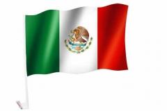 Autofahnen Mexiko