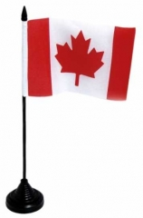 Table Flag Canada