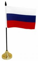 Tischfahnen Russland