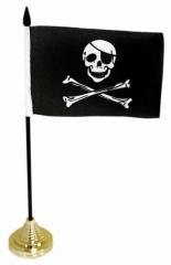 Tischfahnen Piraten