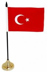 Tischfahnen Türkei