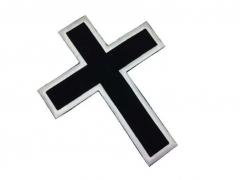 Aufnäher - Schwarzes Kreuz