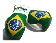 Brazil Mini Boxing Gloves