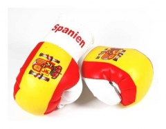 Spanien Mini Boxhandschuhe