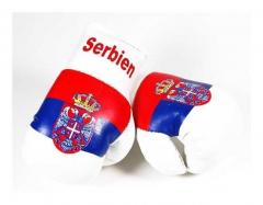 Serbien Mini Boxhandschuhe